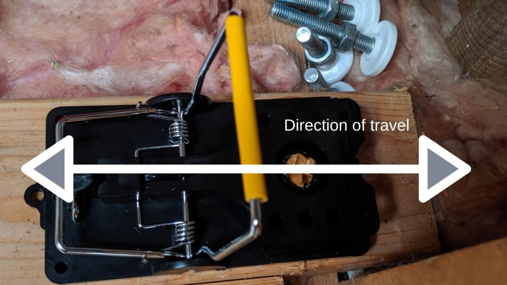 Direction of travel 1