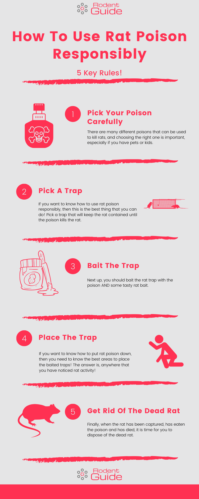 How To Use Rat Poison Infographic